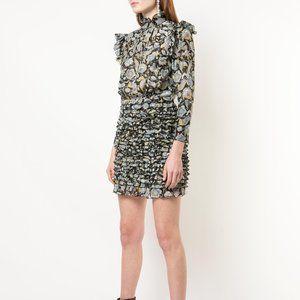 ROBERT RODRIGUEZ Nikita Black Floral Dress NWT 2